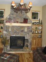 Log Mantelpieces Accent Logs Log Handrails Log Home Furniture