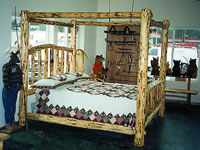 Southwestern Furniture, Southwest Style Canopy Beds