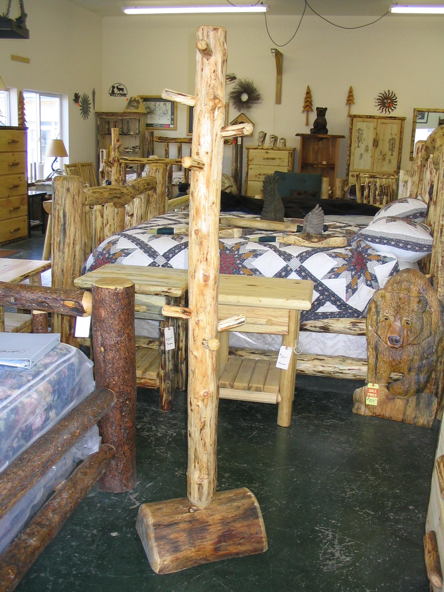 Log Shelves Log Furniture Burnings Wildlife Wood Burnings